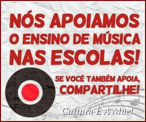 #NósApoiamosMúsicaNasEscolas